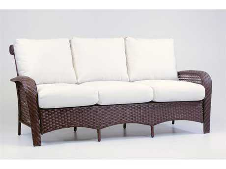 South Sea Rattan Martinique Wicker Cushion Sofa PatioLiving