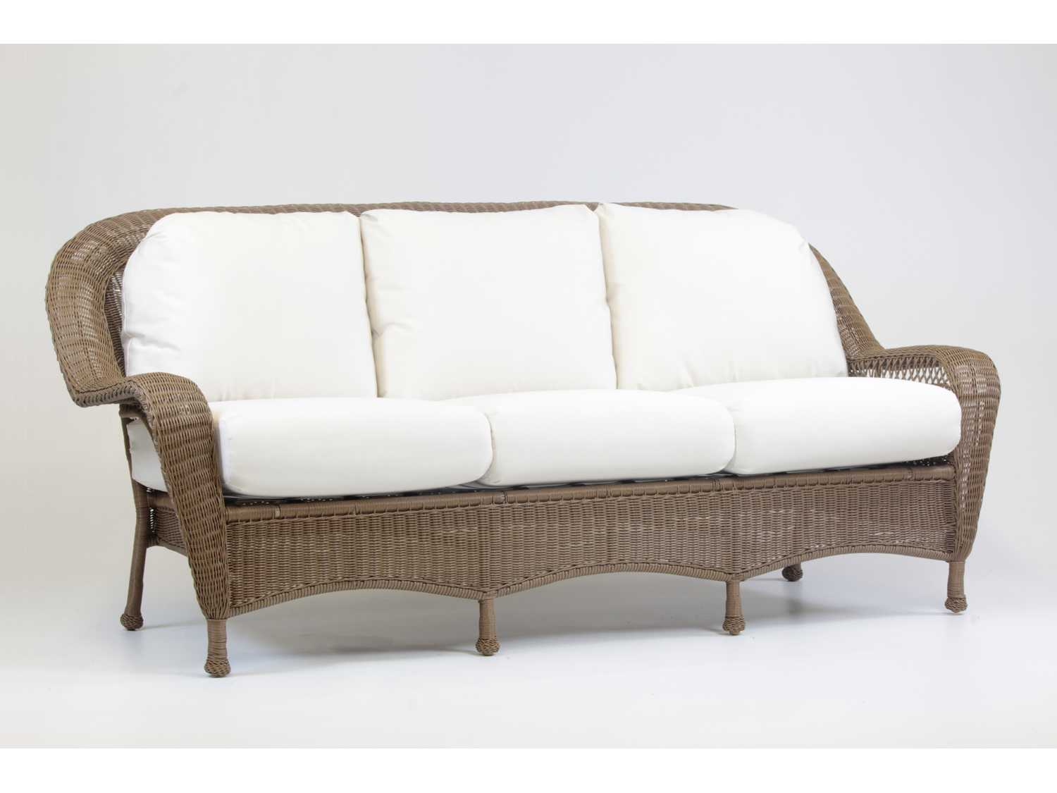 South Sea Rattan Savannah Wicker Cushion Sofa 76403