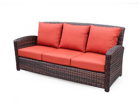 South Sea Rattan Huntington Sofa