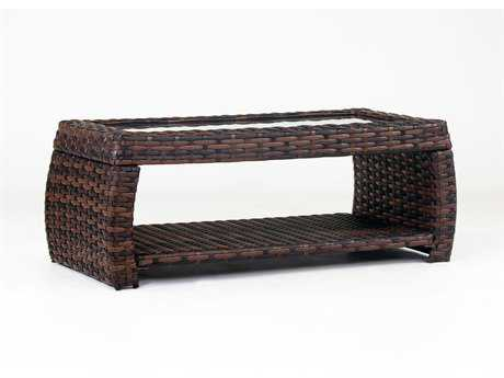 South Sea Rattan Huntington 48''L x 23.5''W Rectangular Coffee Table