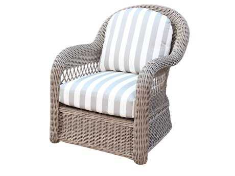 South Sea Rattan Arcadia Wicker Lounge Chair
