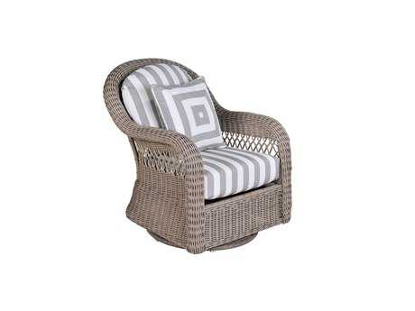 South Sea Rattan Arcadia Wicker Swivel Glider