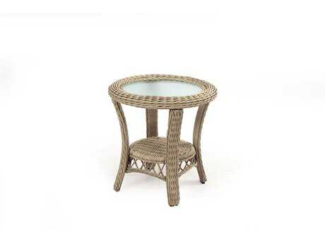 South Sea Rattan Arcadia Wicker 23'' Wide Square End Table
