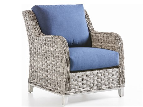 South Sea Rattan Grand Isle Wicker Cushion Lounge Chair