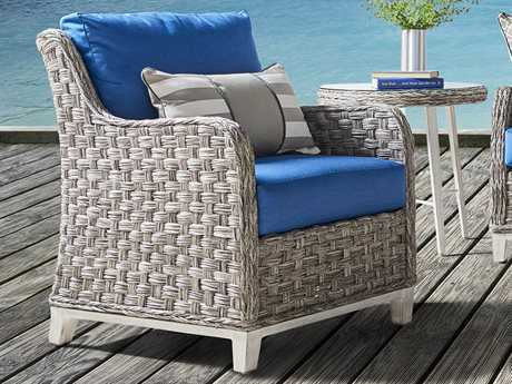 South Sea Rattan Patio Done Quick Grand Isle Wicker Lounge Chair