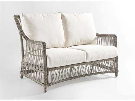 South Sea Rattan Westbay Wicker Loveseat PatioLiving