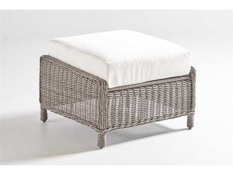 South Sea Rattan Westbay Wicker Ottoman PatioLiving