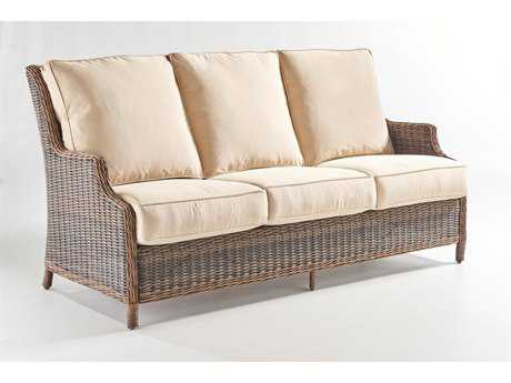 South Sea Rattan Barrington Wicker Sofa