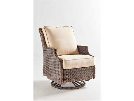 South Sea Rattan Barrington Wicker Swivel Glider