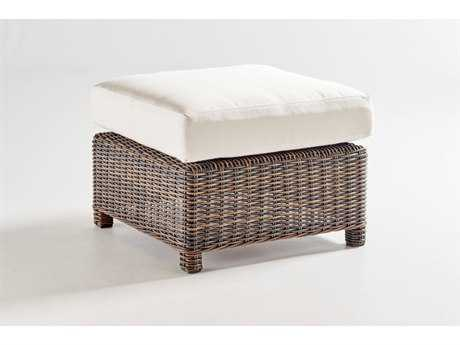 South Sea Rattan Barrington Wicker Ottoman