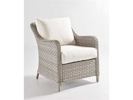 South Sea Rattan Patio Done Quick Mayfair Wicker Lounge Chair