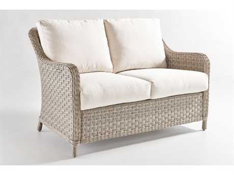 South Sea Rattan Patio Done Quick Mayfair Wicker Loveseat