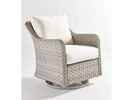 South Sea Rattan Mayfair Wicker Swivel Glider PatioLiving