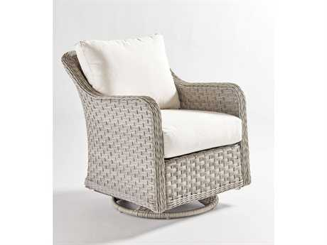 South Sea Rattan Patio Done Quick Mayfair Wicker Swivel Glider