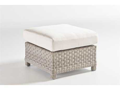 South Sea Rattan Mayfair Wicker Ottoman