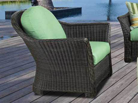 South Sea Rattan Fiji Wicker Lounge Chair