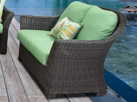 South Sea Rattan Fiji Wicker Loveseat