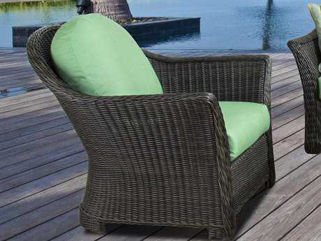 South Sea Rattan Fiji Wicker Swivel Glider