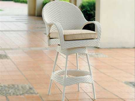 South Sea Rattan Bahia Wicker Bar Stool