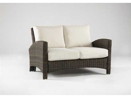South Sea Rattan Panama Wicker Loveseat SR78402