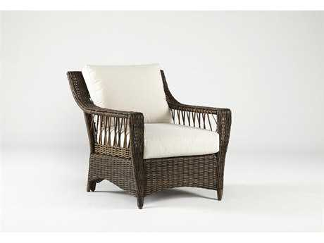 South Sea Rattan Saint John Wicker Lounge Chair PatioLiving