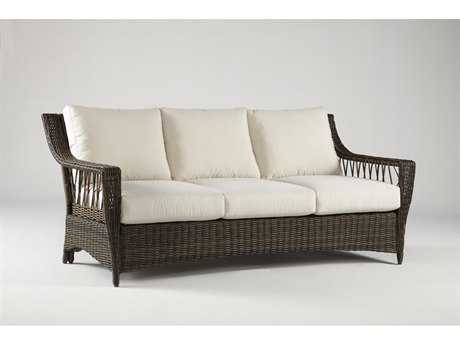 South Sea Rattan Patio Done Quick Saint John Wicker Sofa
