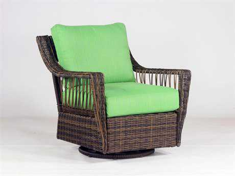 South Sea Rattan Saint John Swivel Glider