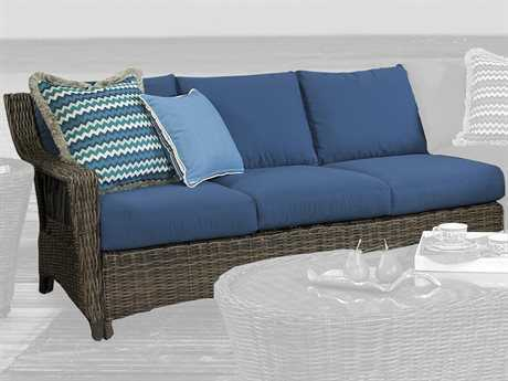South Sea Rattan Saint John Left Side Facing Sofa