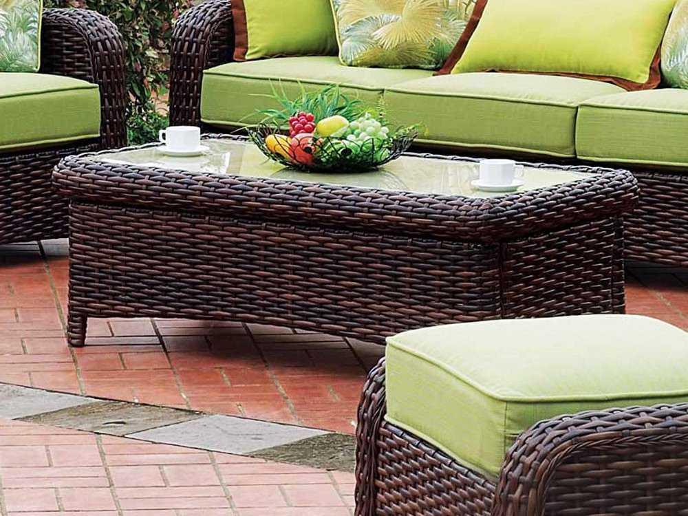 south sea rattan saint tropez conversation cushion wicker. Black Bedroom Furniture Sets. Home Design Ideas