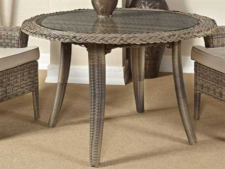 South Sea Rattan Provence 48'' Wide Round Dining Table