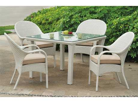 South Sea Rattan Bahia Wicker Dining Set