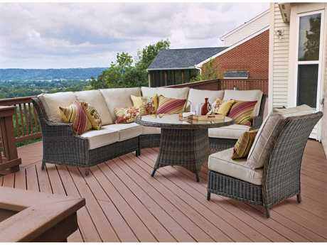 South Sea Rattan Barrington Wicker Lounge Set