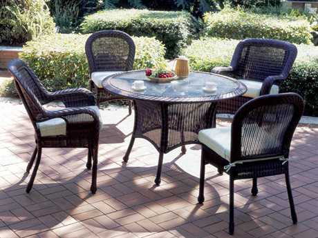 South Sea Rattan Key West Wicker Dining Set
