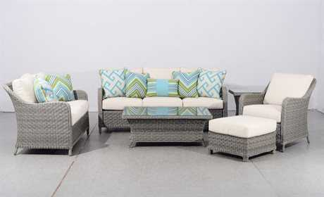 South Sea Rattan Mayfair Wicker Lounge Set