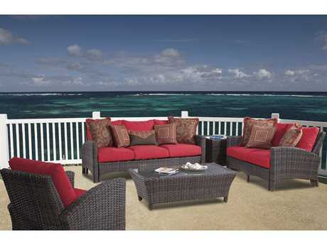 South Sea Rattan Patio Done Quick Panama Lounge Set