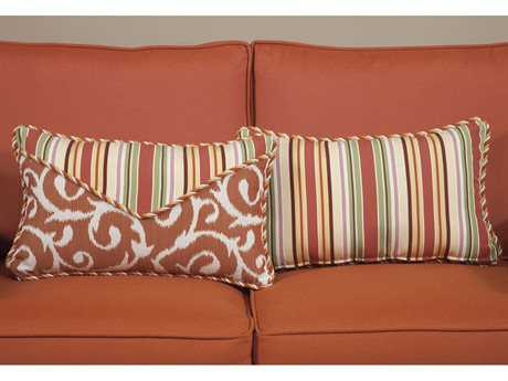 South Sea Rattan Pillow Talk Small Apricot Pillow