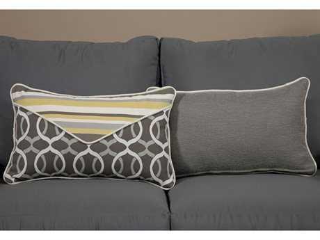 South Sea Rattan Pillow Talk Small Lemon Grass Pillow SRPT12