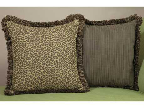 South Sea Rattan Pillow Talk Large Wild Thing Pillow