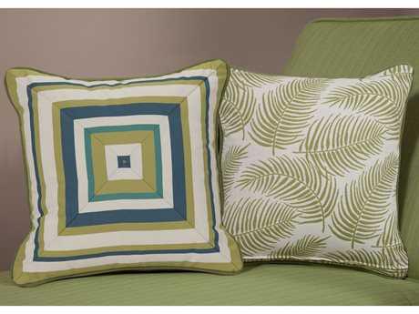 South Sea Rattan Pillow Talk Medium Palm Pillow SRPT15M
