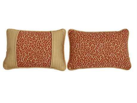 South Sea Rattan Pillow Talk Small Mandarin Pillow SRPT16S