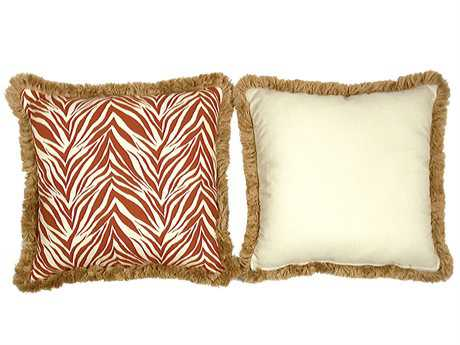South Sea Rattan Pillow Talk Large Mandarin Pillow