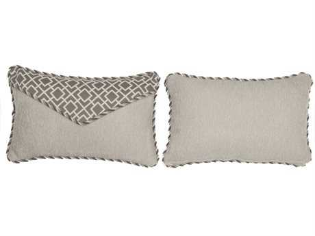 South Sea Rattan Pillow Talk Small Platinum Pillow