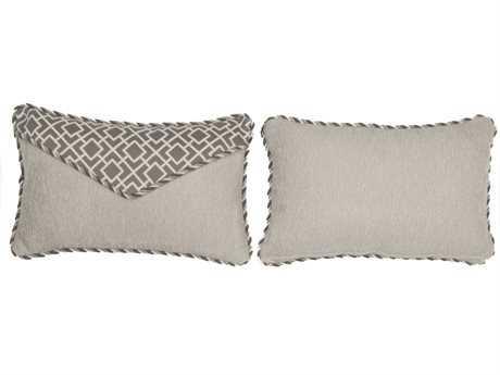 South Sea Rattan Pillow Talk Small Platinum Pillow SRPT17S