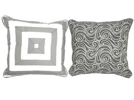 South Sea Rattan Pillow Talk Medium Platinum Pillow