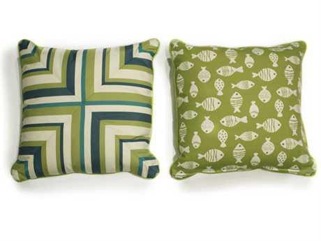 South Sea Rattan Pillow Talk Aegean Pillow SRPT18