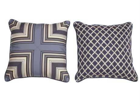 South Sea Rattan Pillow Talk Medium Neptune Pillow