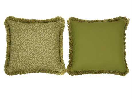 South Sea Rattan Pillow Talk Large Geranium Pillow SRPT21L