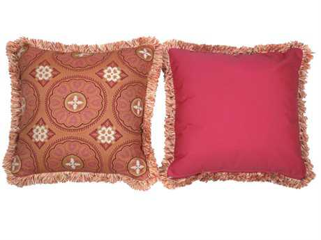 South Sea Rattan Pillow Talk Large Sunset Pillow