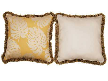 South Sea Rattan Pillow Talk Large Sunshine Pillow