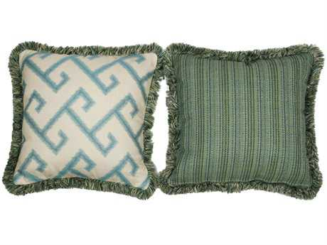 South Sea Rattan Pillow Talk Large Calypso Pillow
